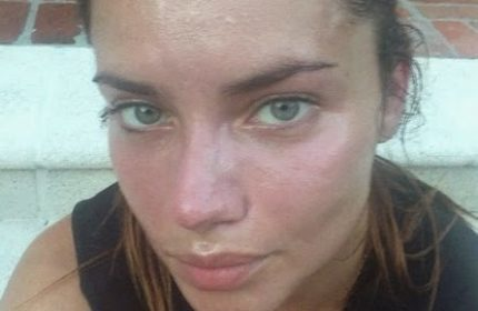Adriana Lima without make-up